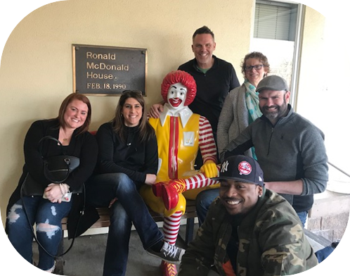 CaterTrax Volunteers at Ronald McDonald House Rochester